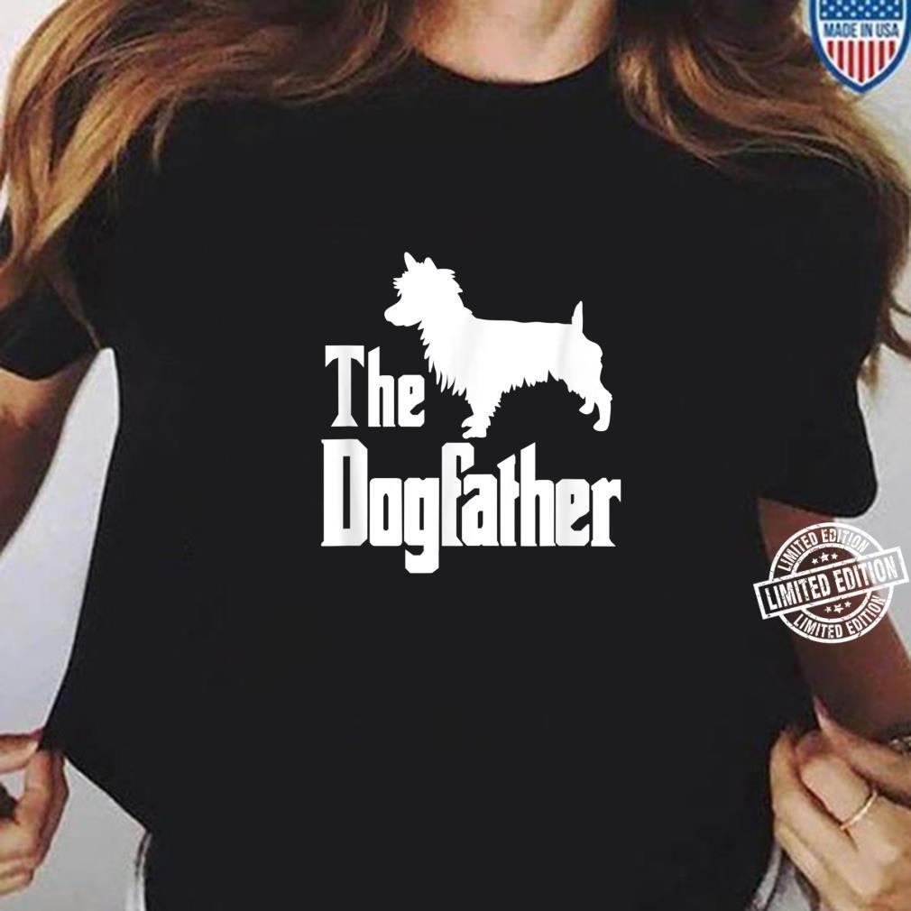 The Dogfather Dog Australian Terrier Shirt ladies tee