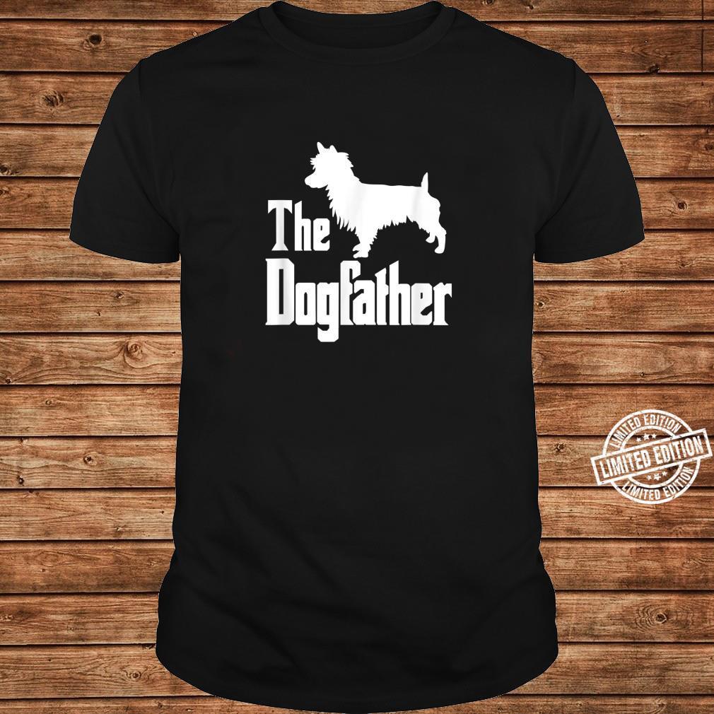 The Dogfather Dog Australian Terrier Shirt long sleeved