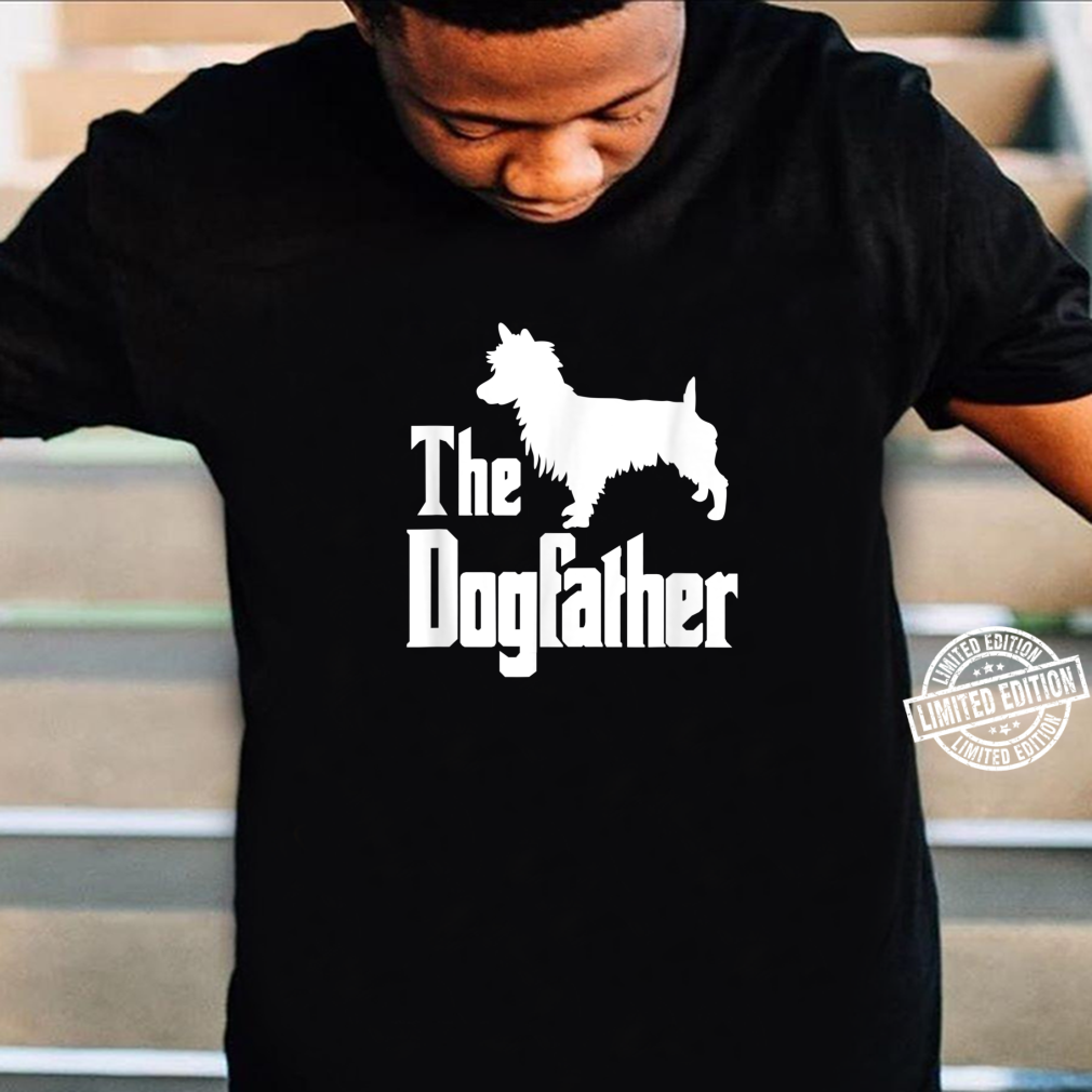 The Dogfather Dog Australian Terrier Shirt