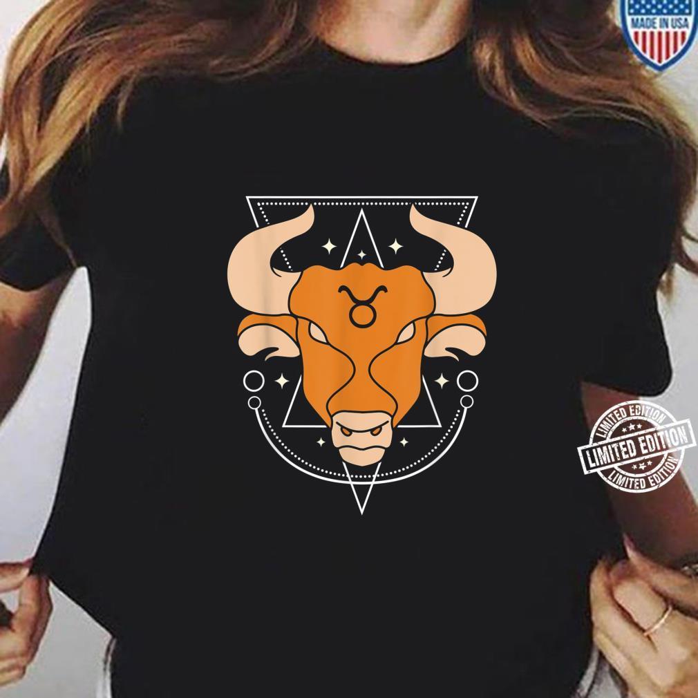 Zodiac Sign Taurus Constellation Shirt ladies tee