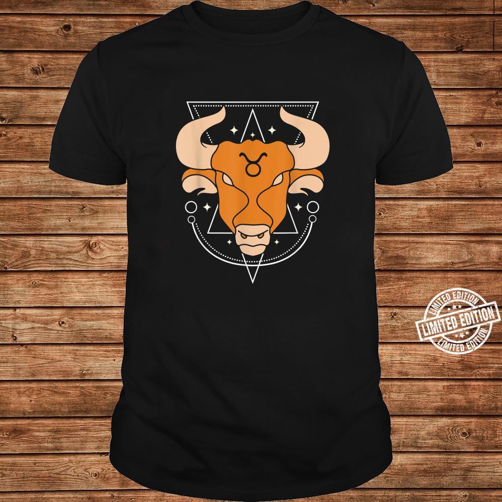 Zodiac Sign Taurus Constellation Shirt long sleeved